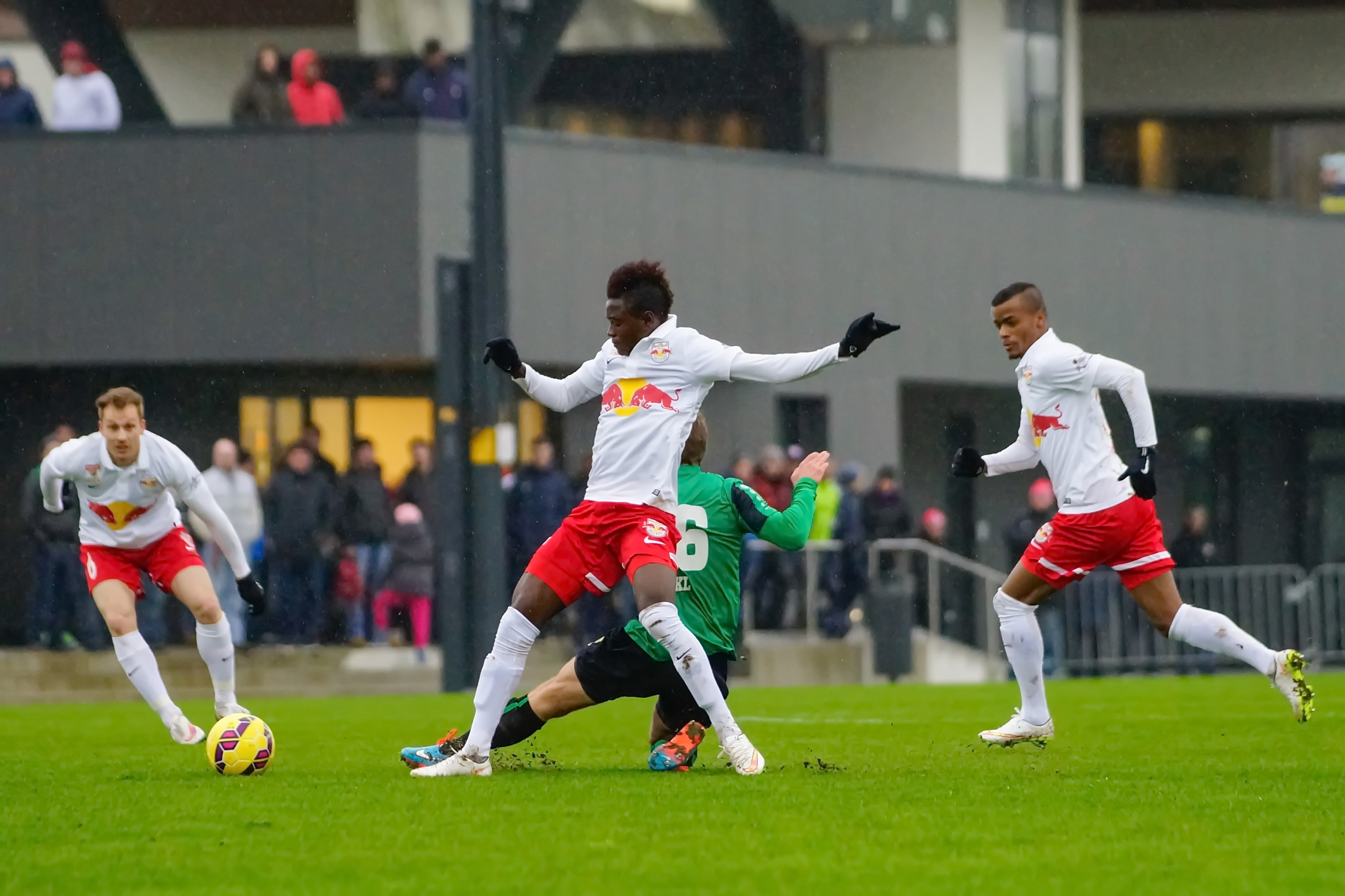 Ghana youth midfielder David Atanga scored for Liefering in Austria Liga 1