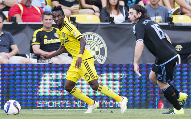 VIDEO: Watch Harrison Afful superb volley to register first MLS & Columbus Crew goal