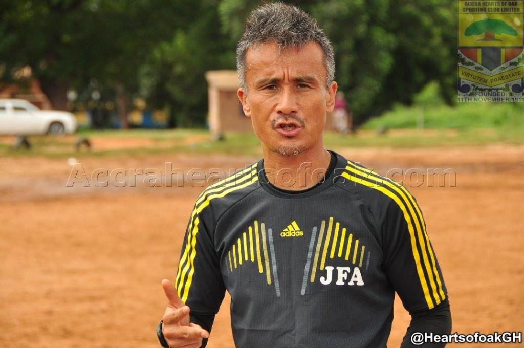 Japanese trainer Kenichi Yatsuhashi yearns for Asante Kotoko coaching job