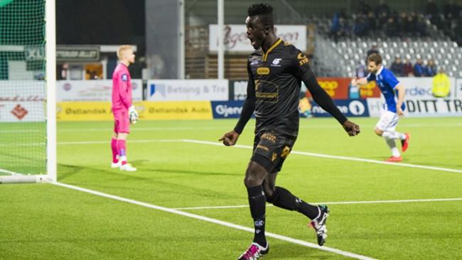 Kwame Karikari won the game for Haugesund in Norway
