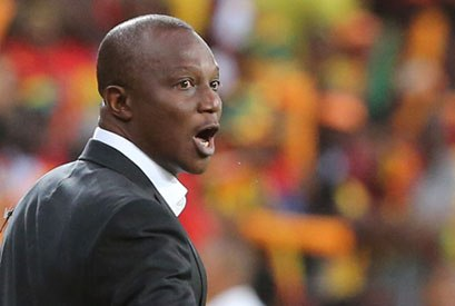 Kwesi Appiah at the 2013 Africa Cup of Nations.