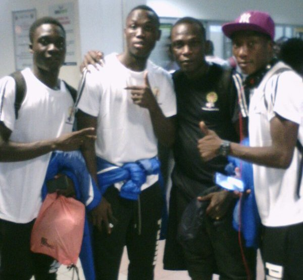 Medeama arrive in Sfax for Confederation Cup match.