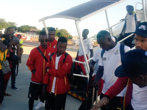 AFCON 2017 qualifiers: Black Stars arrive in Maputo for Mozambique reverse clash
