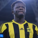 Sulley Muntari stretchered off during Al Ittihad defeat in Asian Champions League