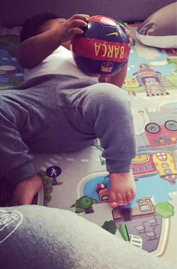 Sulley Muntari's son Jamal