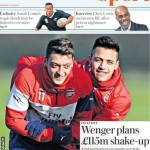 Today's newspaper gossip: Wenger plans £115 shake-up, Benteke faces Liverpool sack