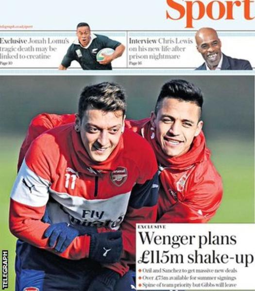 Today's newspaper gossip: Wenger plans £115 shake-up, Benteke faces Liverpool sack