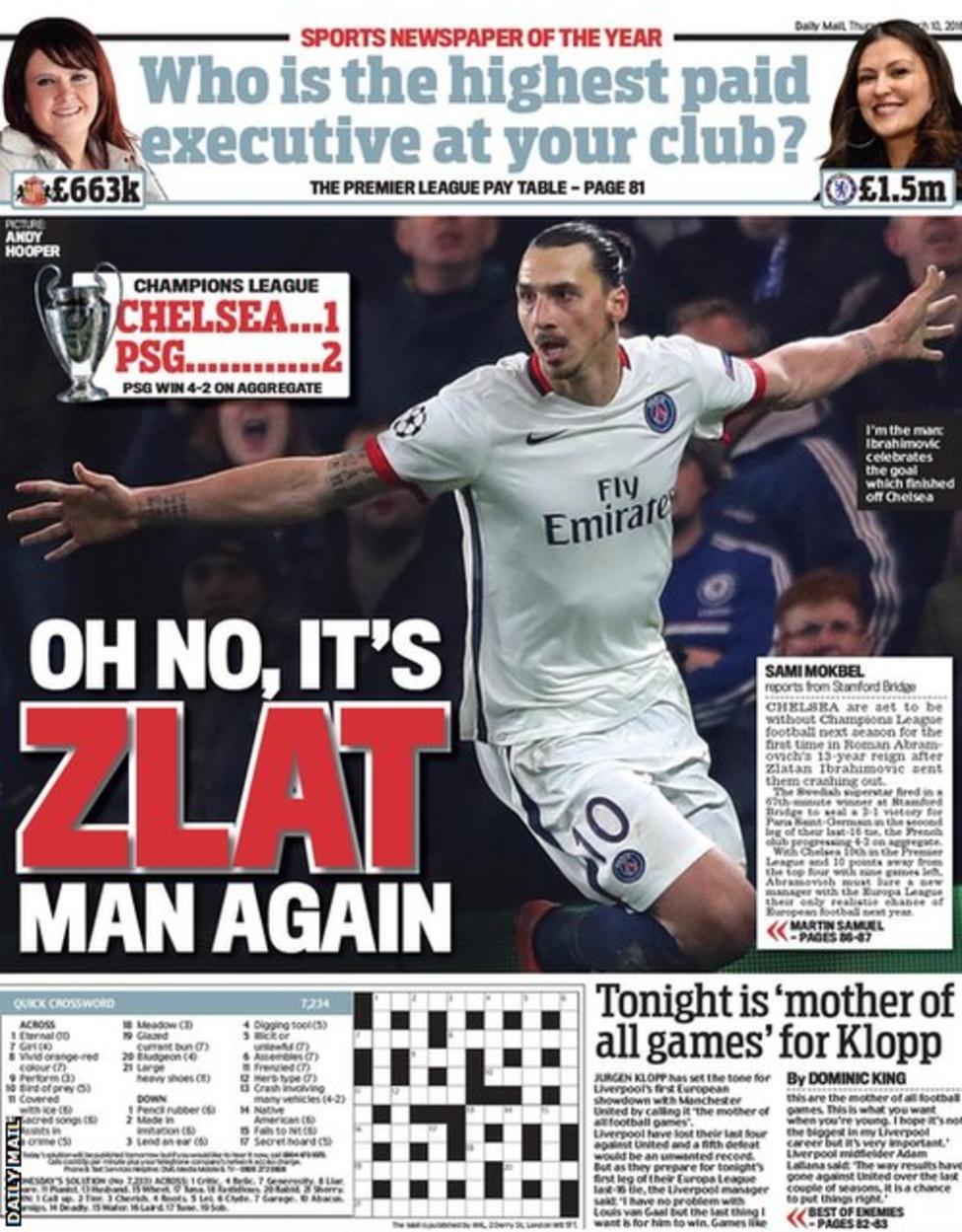 Today's newspaper gossip: Jordan Ayew to leave Aston Villa, West Ham ready for Bony