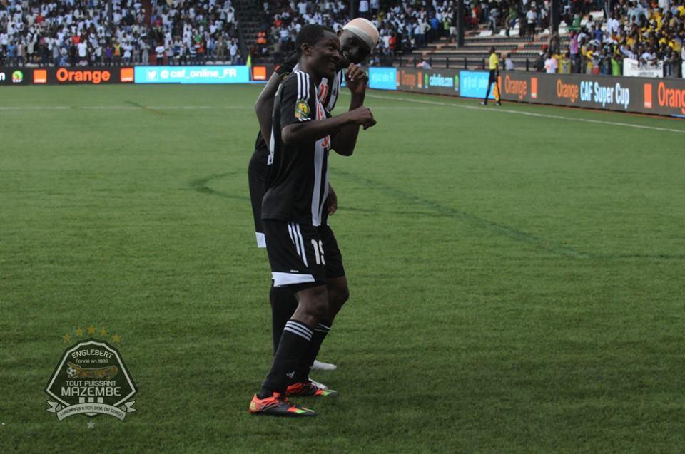 Nii Adjei scored for TP Mazembe in Ethiopia