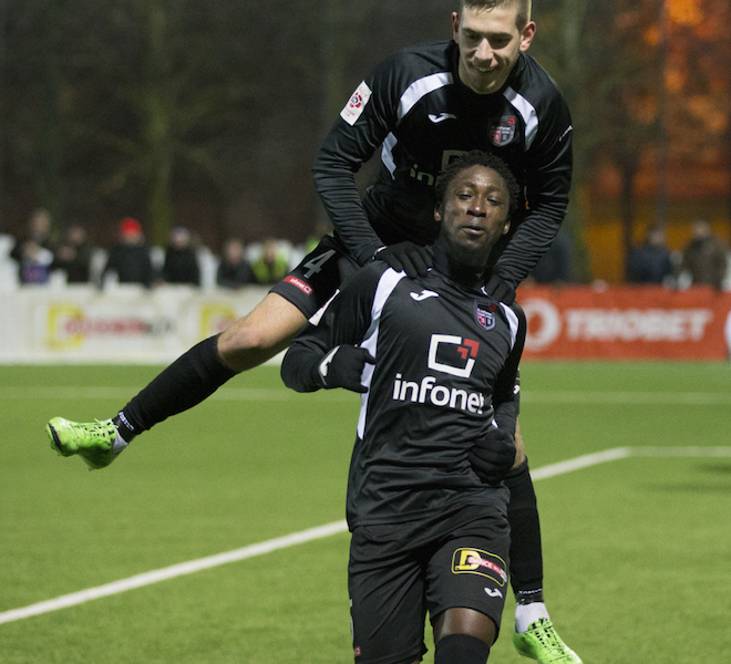 PHOTOS: Michael Ofosu Appiah seals win for Tallinna Infonet in Estonian League