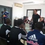 PHOTOS: Red Bull Salzburg chiefs lecture WAFA SC coaches