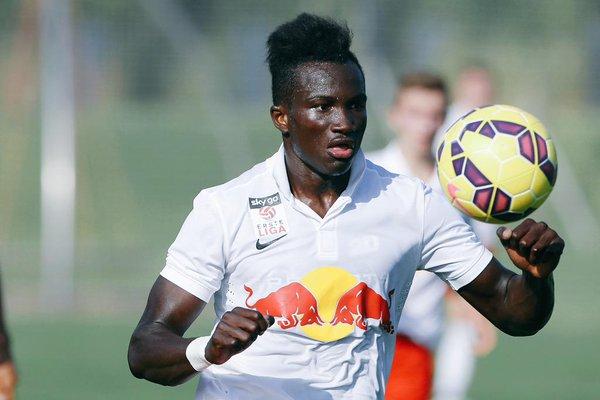 Raphael Dwamena scored for Liefering