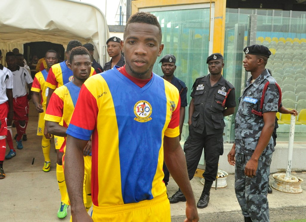 Hearts midfielder Richard Yamoah set for comeback after FIVE months injury layoff