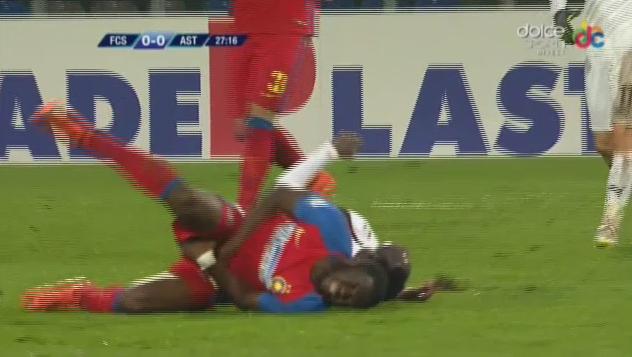Muniru Sulley  suffers injury.