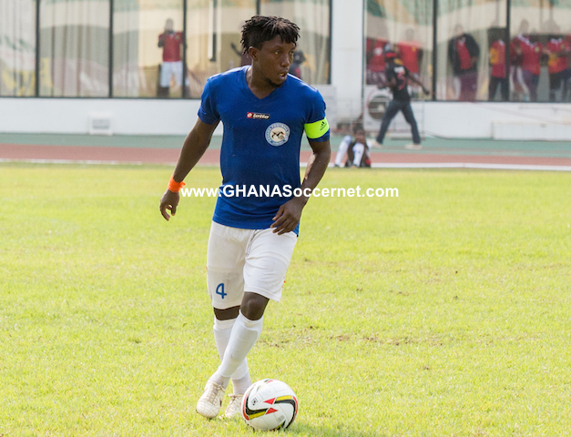 Aduana Stars captain Godfred Saka sets date for his injury return