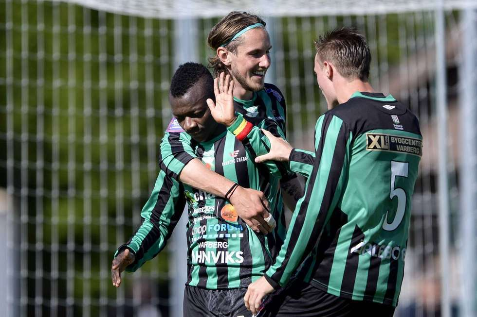 Thomas Boakye scored to power Varbergs to win in Swedish Cup
