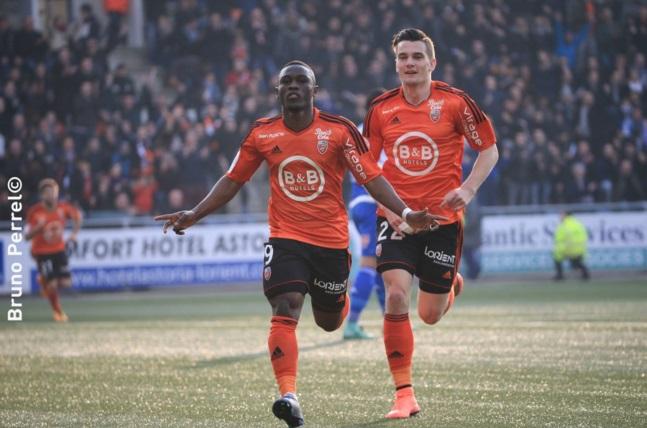 Waris scored for Lorient