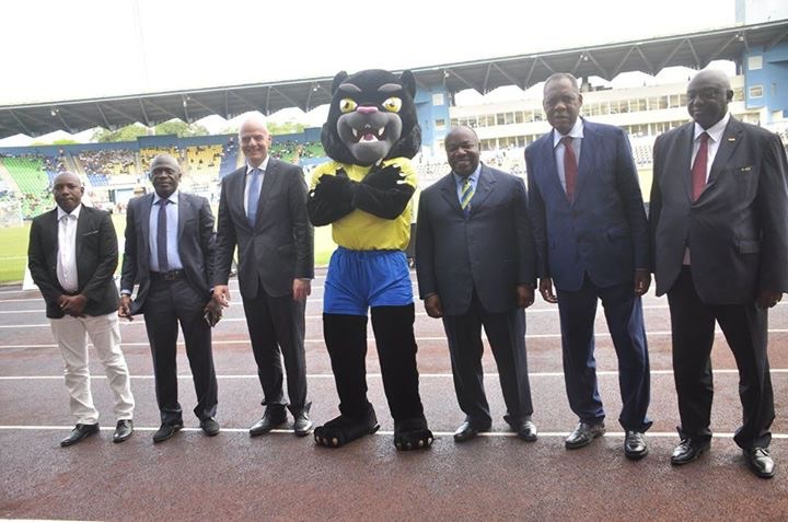 AFCON 2017 official mascot Samba unveiled in Gabon