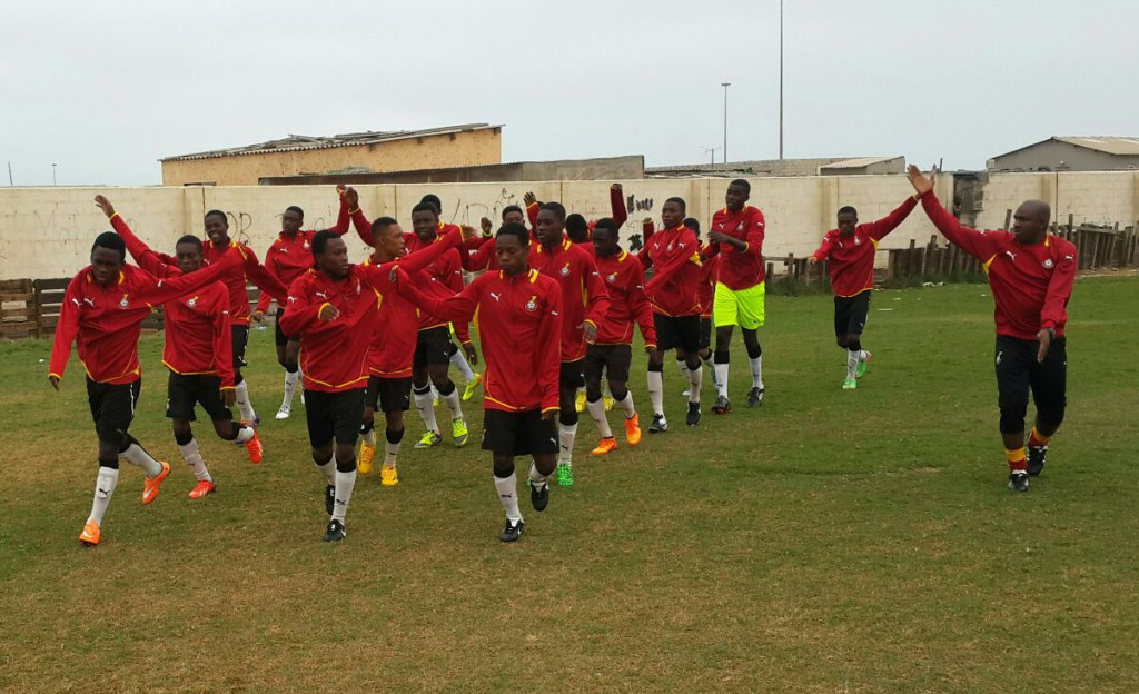 PHOTOS: Black Starlets train ahead of clash with Namibia on Wednesday