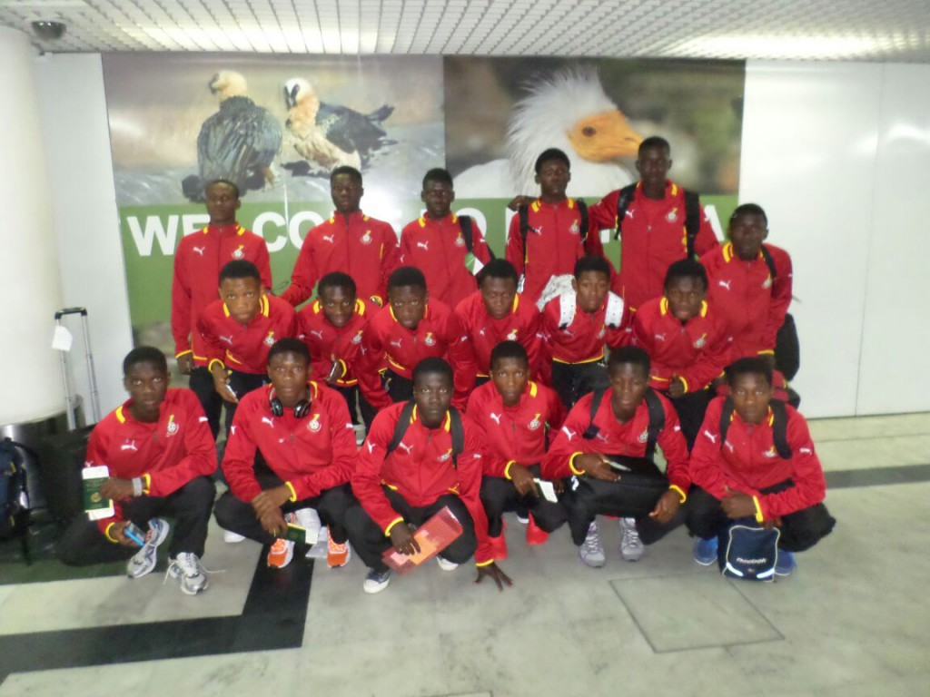 Ghana U17 to play Namibia tomorrow in four nation tournament opener