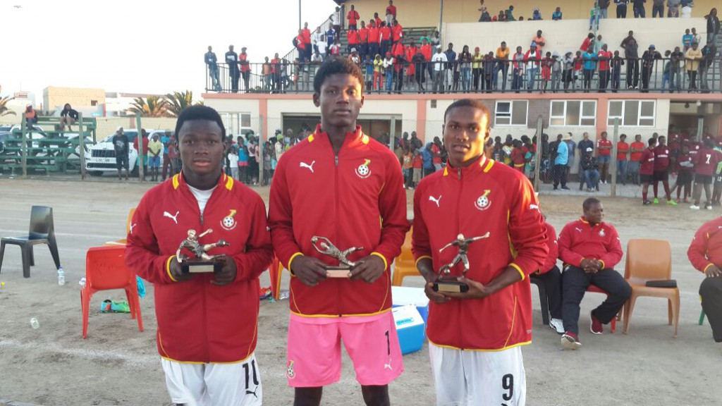 Ghana U17 sweep all awards at Four Nation Tournament in Namibia