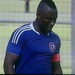 Berekum Chelsea forward Sadick Adams delighted with his two goals after returning from injury