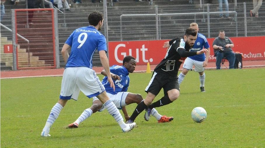 Bernard Tekpetey excelled for Schalke
