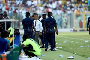 PHOTOS: Crowd violence mars Wa All Stars win over Hearts