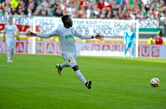 Augsburg reveal Daniel Opare injury
