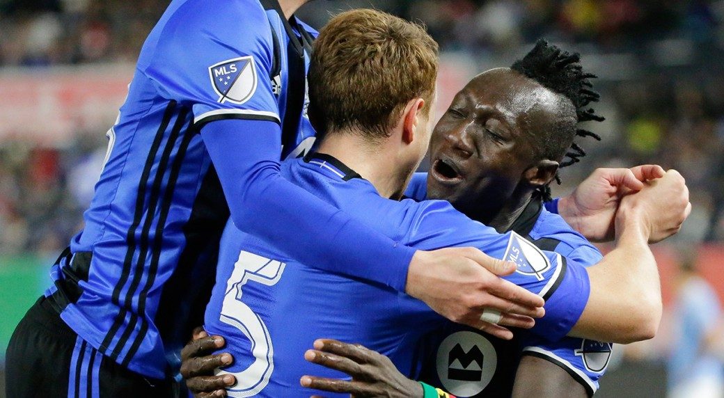 VIDEO: Watch Dominic Oduro's wonderful diving header from Didier Drogba's cross in MLS