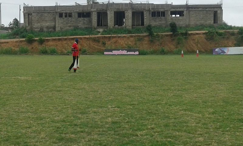 David Duncan at Asante Kotoo training ground.