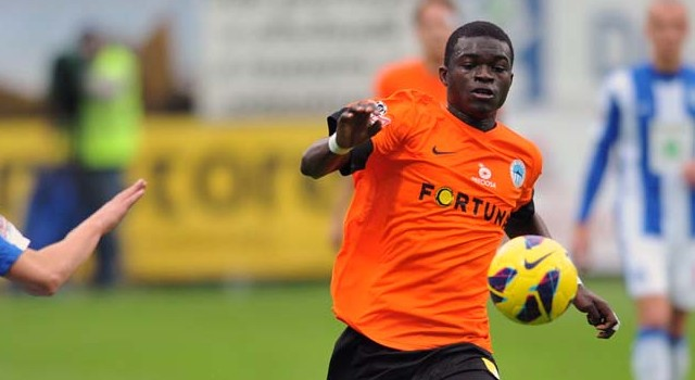 Ghana midfielder Isaac Sackey plays in Alanyaspor 3-1 home loss to Bernard Mensah's Kasimpasa