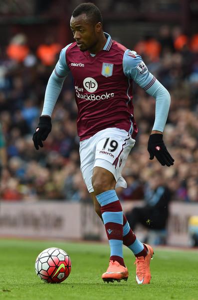 Jordan Ayew in action against Chelsea