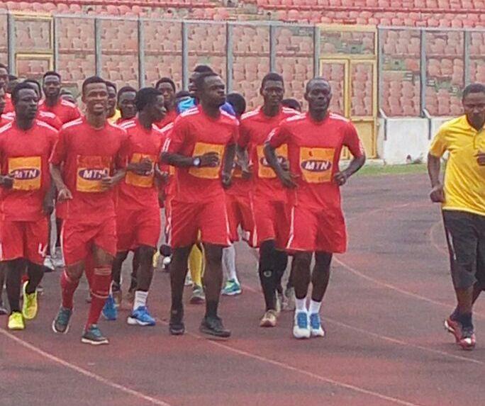 'New' Kotoko technical team swerves David Duncan to train at Baba Yara Stadium