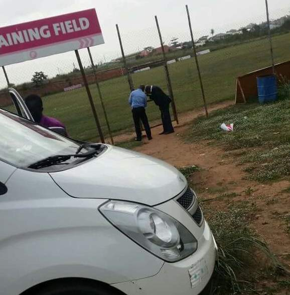 VIDEO: Asante Kotoko spruce up Adako Jachie training ground ahead of pre season start