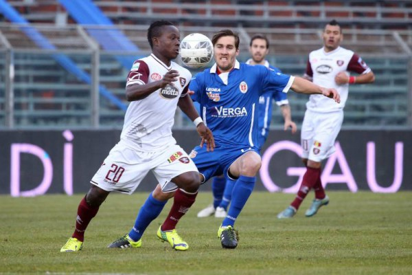 VIDEO: Watch Moses Odjer's stunning strike for Salernitana in Italy