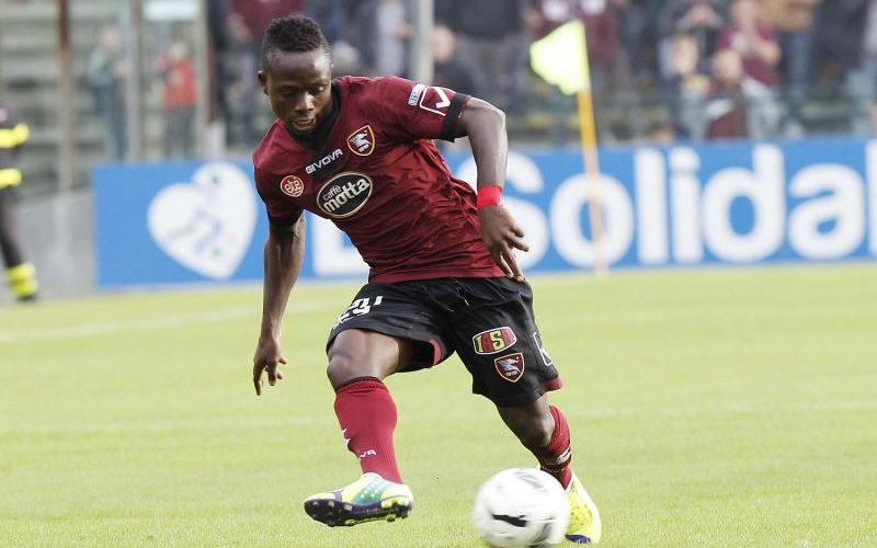 Italian Serie B side Salernitana rebuff A.S Livorno meagre offer for Moses Odjer