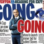 Today's newspaper gossip: Chelsea to bid for Stones, Martinez faces the sack