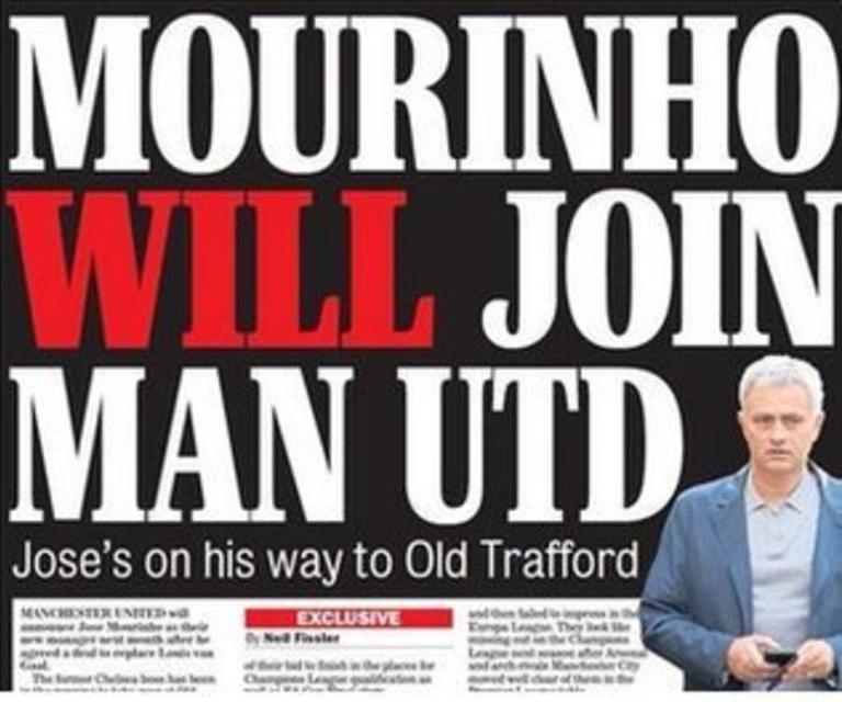 Today's newspaper gossip: Mourinho signs United deal, Kasper Schmeichel on Barca radar