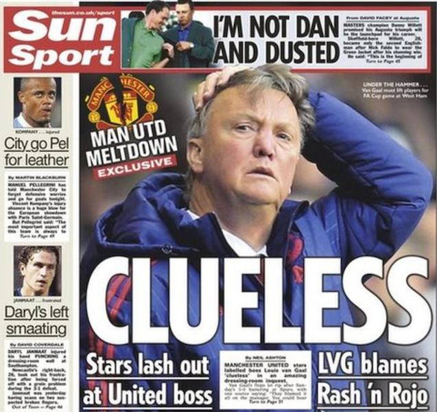 Today's newspaper gossip: Leicester City under investigation, United players fire Van Gaal