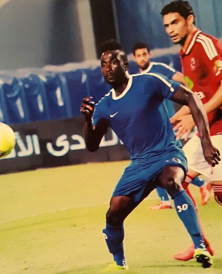 Egypt based Nana Poku could earn Black call up for Pharaohs clash