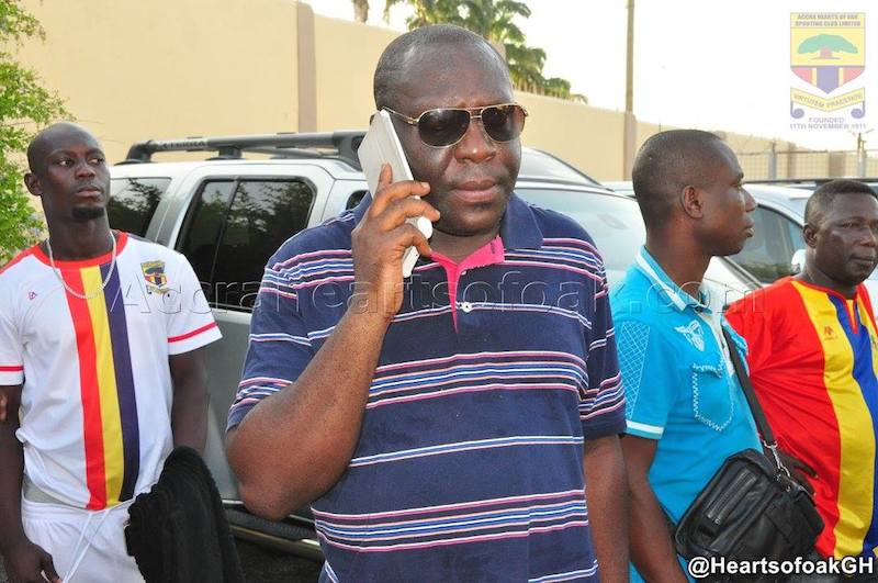 Hearts of Oak swat aside reports MD Odotei and coach Traguil have been FIRED