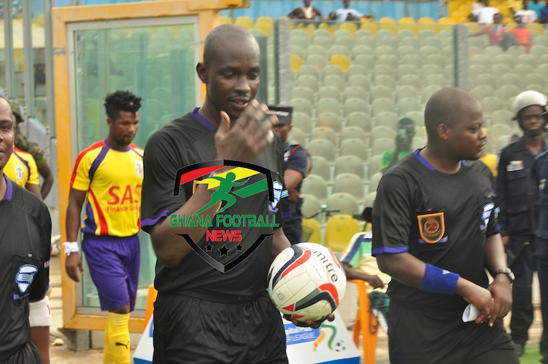 Evans Adottey blames Referee J.A Amanya despite Medeama great 3-2  over WAFA