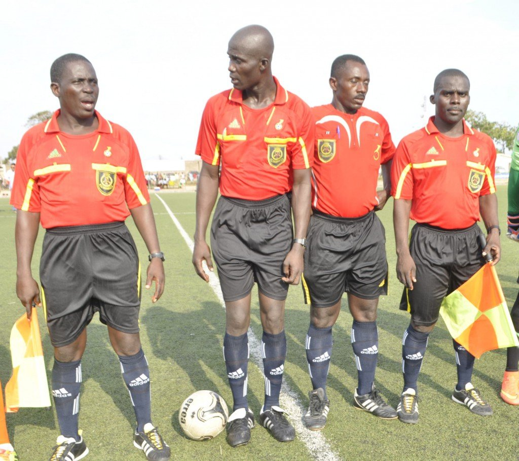 Match Officials for mid-week matches named: Dally Gagba for Hearts-AshGold cracker