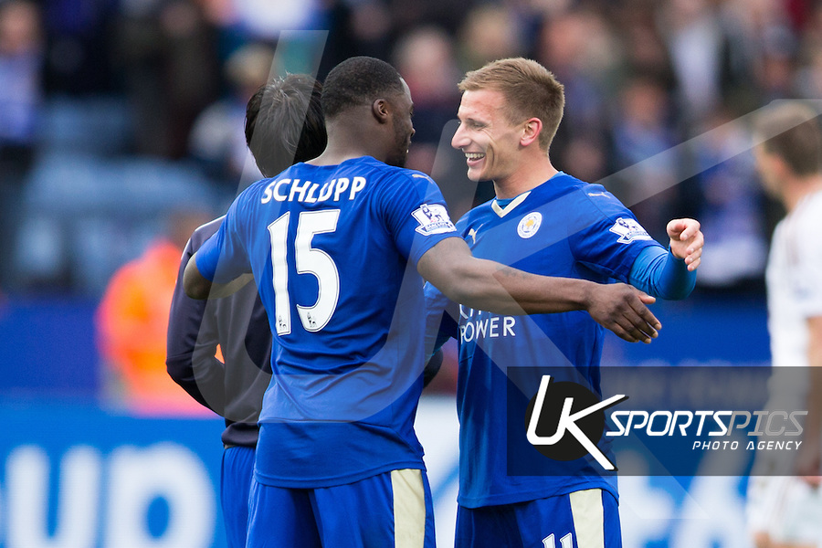Video: Watch Leicester winger Jeffrey Schlupp talks about his side's victory over Swansea