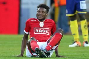 Ex-Ghana youth star Benjamin Tetteh picks up injury in Standard Liege win over Waalsund Beveren