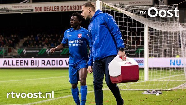 Manchester City loanee Thomas Agyepong's season has ended in Holland with shoulder injury