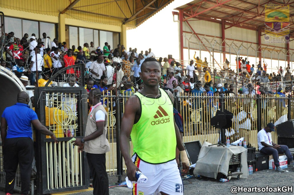 We have forgotten about AshGold win, attention on Kotoko now- Hearts defender Atingah
