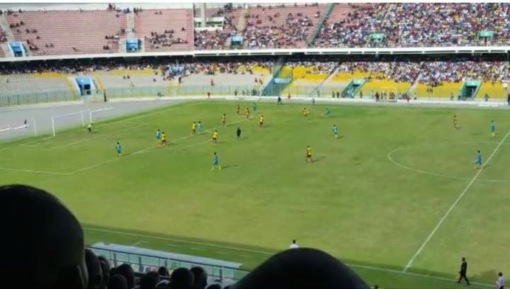 Video and photo show referee was right in Hearts match against Wa All Stars