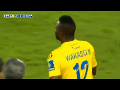 VIDEO: Watch Mubarak Wakaso's wizardry goal for Las Palmas in La Liga
